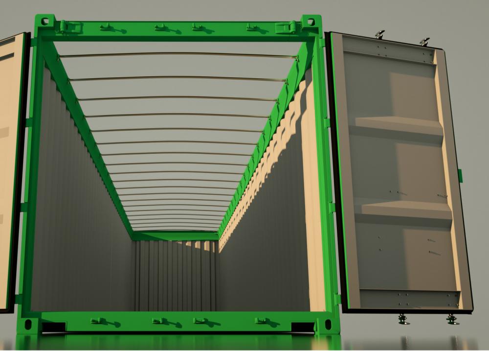 Leggyakrabban használt konténer típusok - OPEN TOP